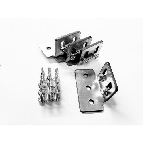 Slotted Mounting Bracket kit for ladder rack 1