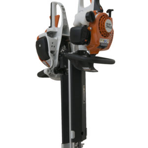 hedge trimmer rack for open trailer