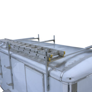 ladder rack for roof of trailer 1